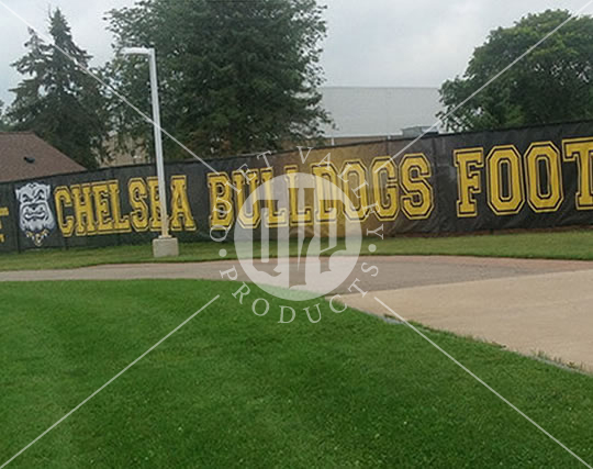 Printed Mesh for Football Fields